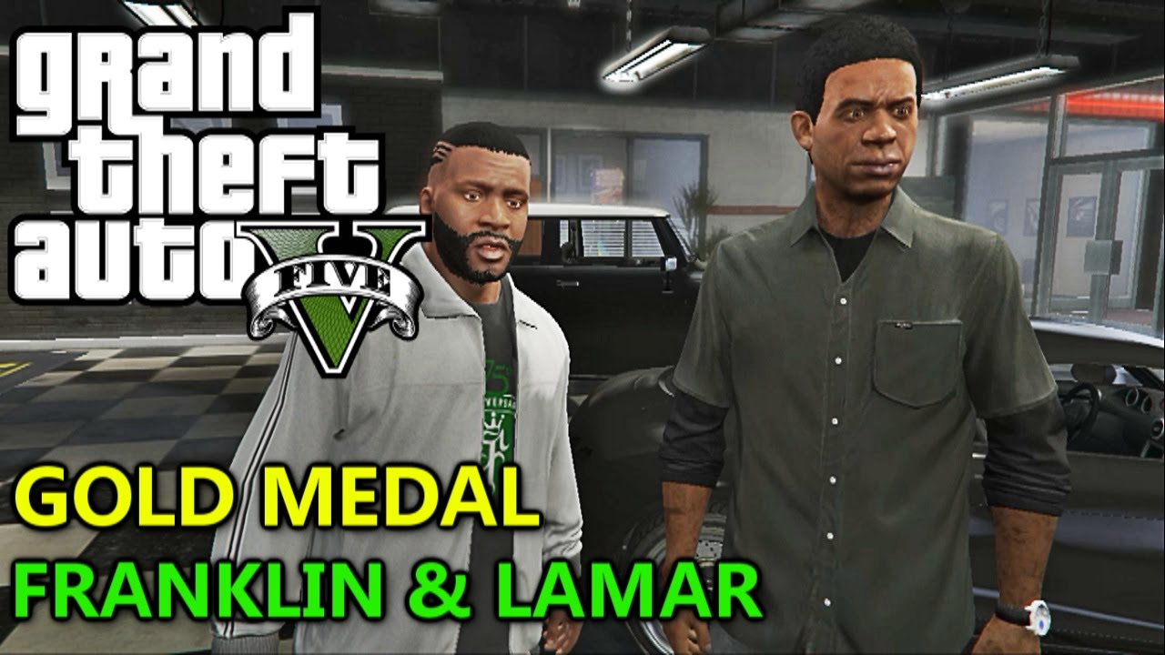 Gta 5 Online Lamar Mission 1 Wiring Diagrams Siemens 609590 Outdoor Main Breaker Mobile Home Panel 100a 24 Circuit Franklin And 100 Gold Medal Walkthrough Rh Youtube Com Ps4