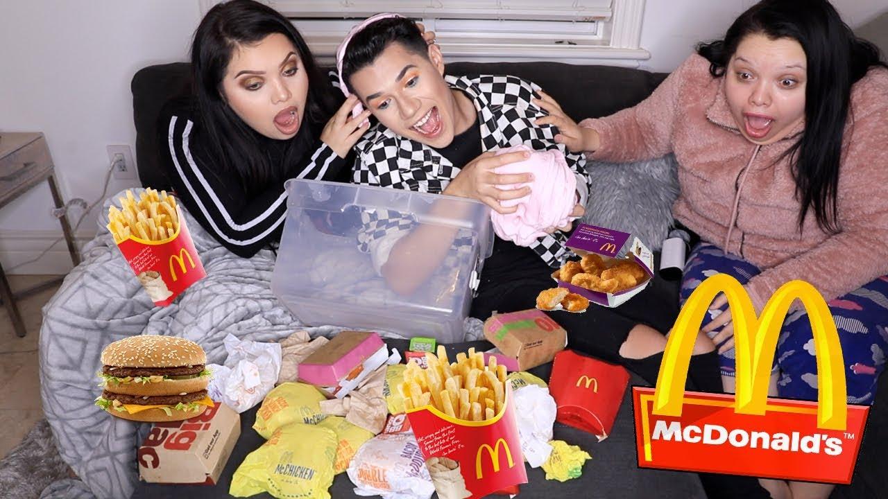 Mcdonalds Mukbang With Mayratouchofglam Karina Garcia
