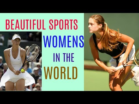 Top Gorgeous Sports Women In The World 2017