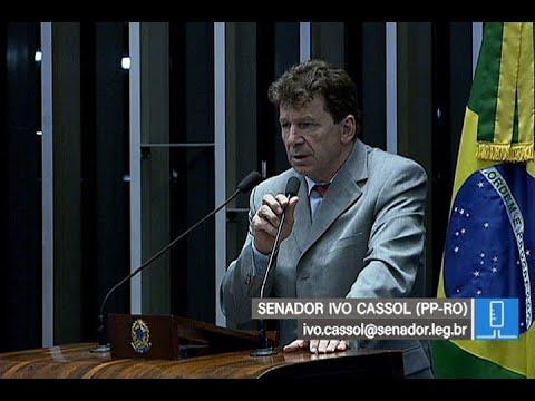 Rondônia sofre com falta de gestão, diz Ivo Cassol