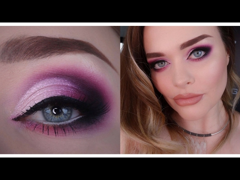 Chatty GRWM | Pink Smokey Eye | Dramatic VALENTINE Makeup Tutorial