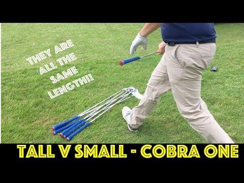 TALL V SMALL - COBRA ONE LENGTH CHALLENGE (Pt2)