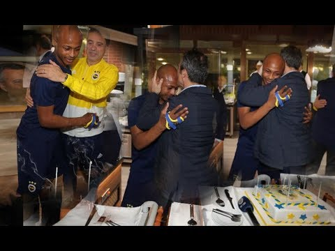 ANDRE AYEW GETS BIRTHDAY PARTY FROM FENERBACHE, ANAS SPEAKS ON $100K ACCUSATION & KP BOATENG RETURN?