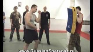 Ударная техника в Боксе. Александр Колесников
