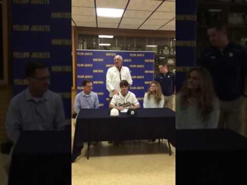 Seth Huepel Signs With Wayland Baptist University