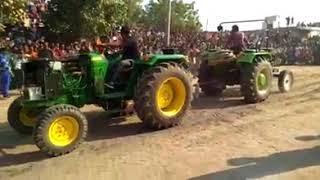 John Deere Preet tractor