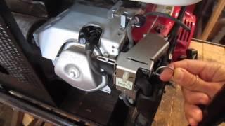 Мотор HONDA GX-390, на бензогенераторе