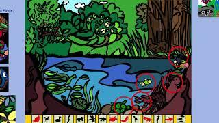 Seek and Find Game - Pond Animals - Sheppard Software