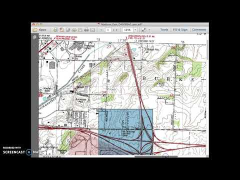 How To Read PLS Coordinates On A Topographic Map