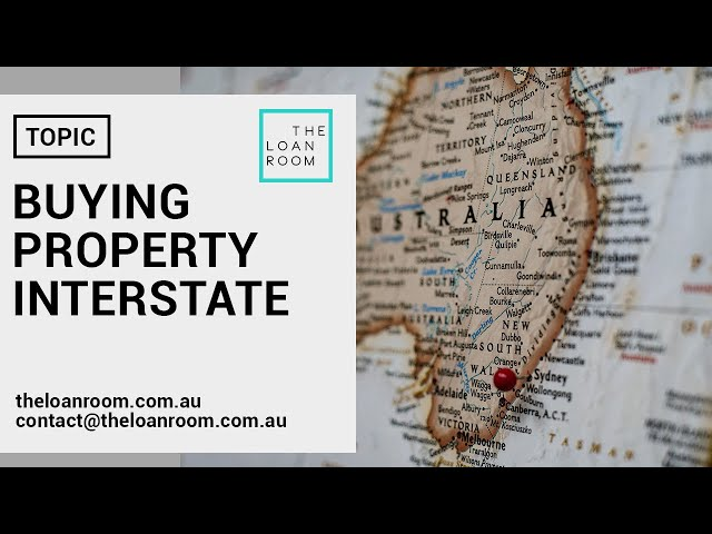 Buying property interstate 🏘️