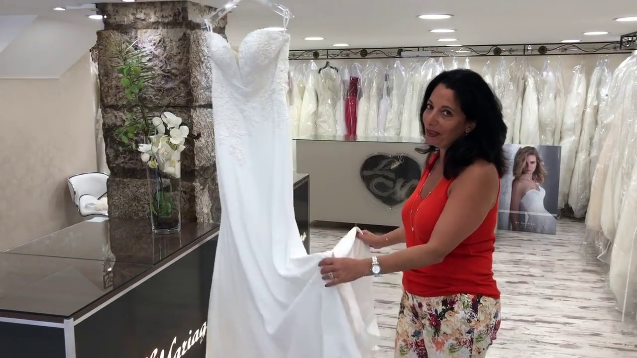 92db07ad5a2 ROBE DE MARIÉE WHITE ONE - OCTA (COLLECTION 2019) - YouTube