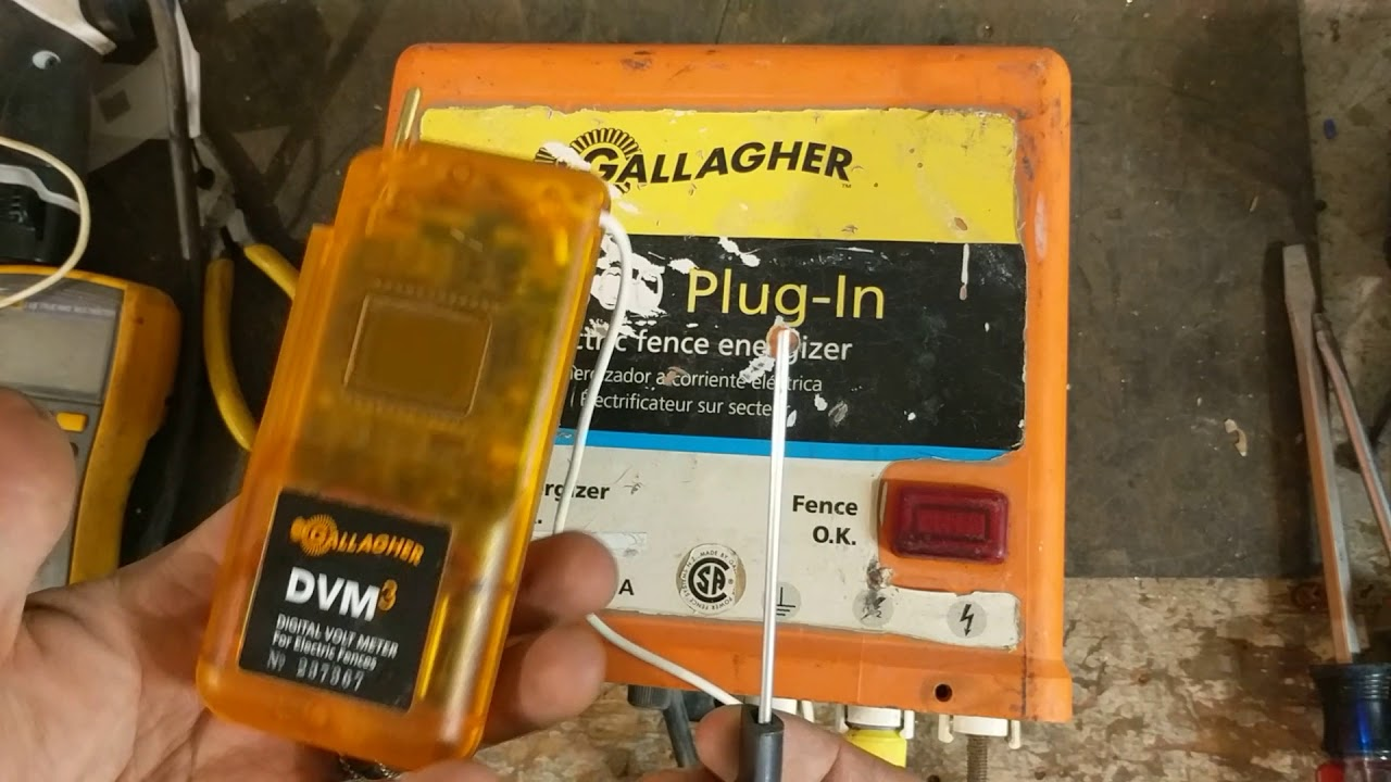 How to test an electric fence charger (Gallagher M800) Gallagher S S Wiring Diagram on