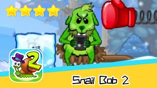 Snail Bob 2 Winter Story 30 Walkthrough Play levels and build areas! Recommend index four stars