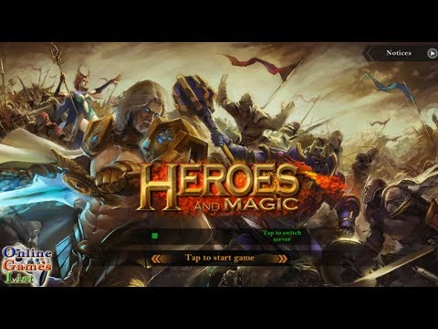 Heroes and Magic - Strategy Game (Android Gameplay ᴴᴰ)