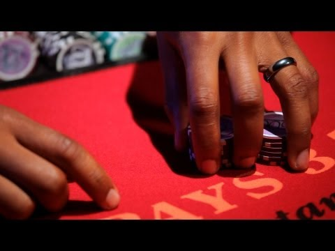 How to double down in blackjack