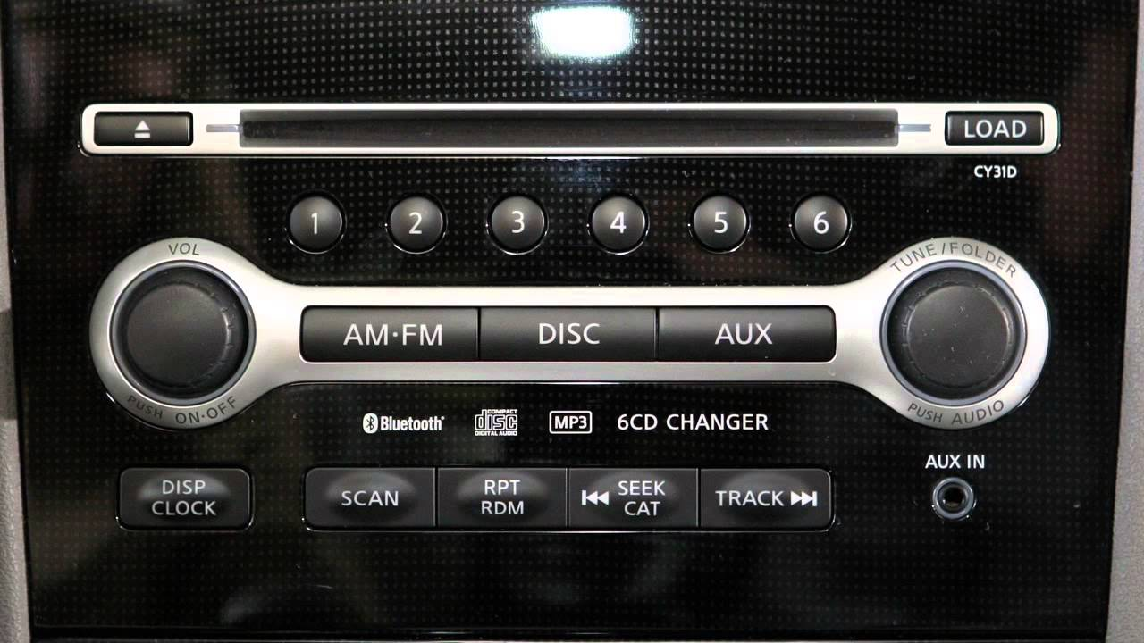 2014 nissan maxima audio system [ 1280 x 720 Pixel ]
