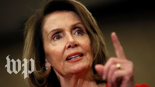 Pelosi and other Democrats hold a news conference