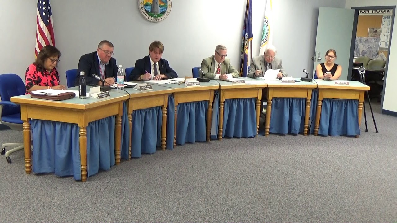 Town of Plattsburgh Meeting  7-11-19