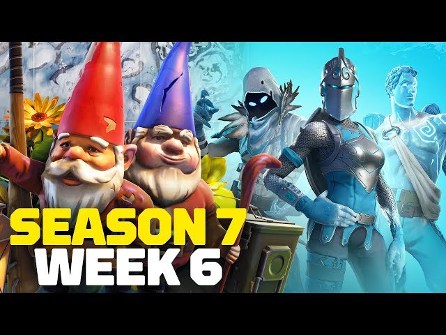 Fortnite All Chilly Gnomes Locations Week 6 Challenge