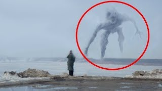 25 SCARIEST Faces In Strange Places !