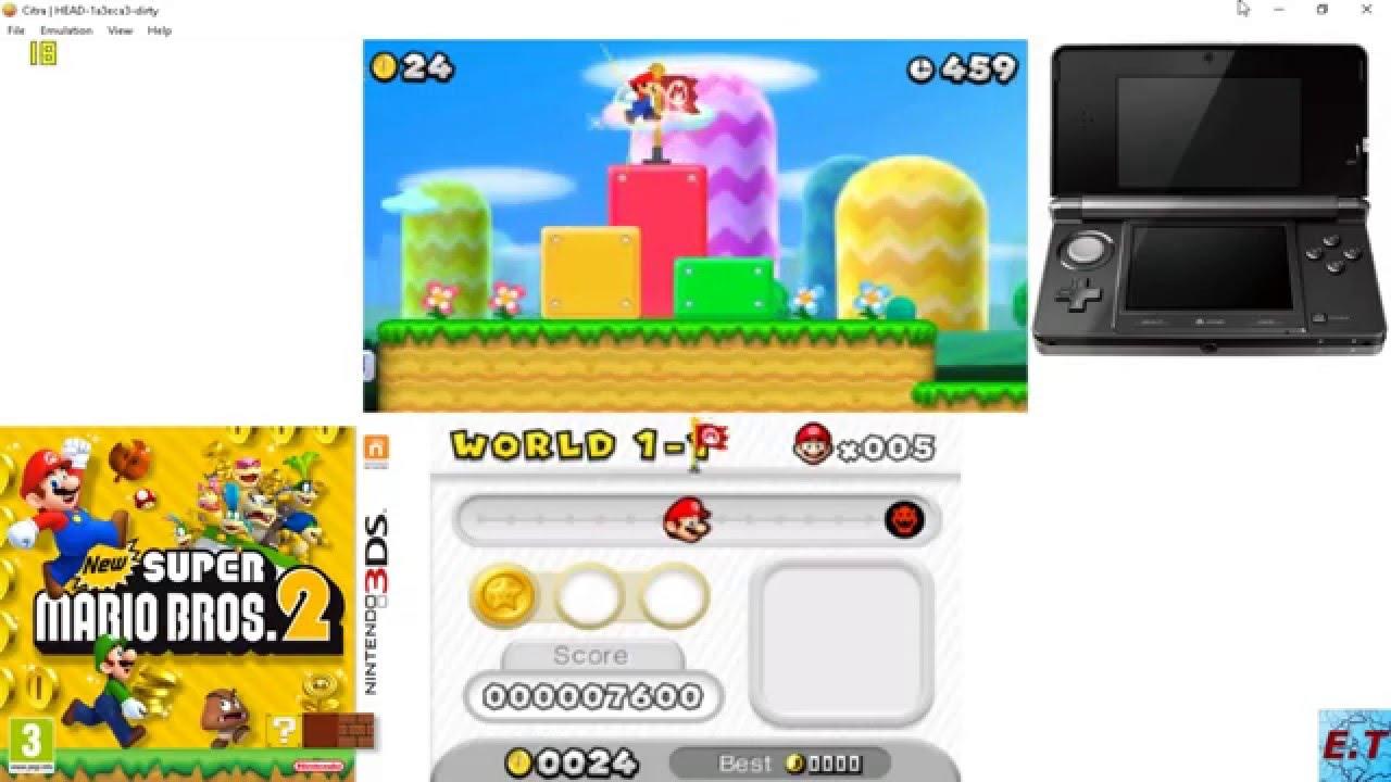 Super mario bros 2 3ds emulator download   New Super Mario