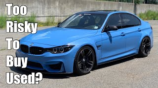 Watch this before buying a used BMW M3 or M4 (F80, F82, F83 - what to look for)
