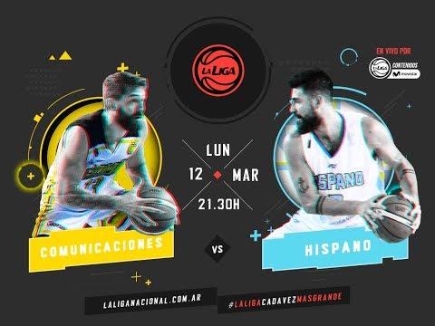Liga Nacional: Comunicaciones vs. Hispano | #LaLigaEnTyCSports