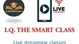 LIVE STREAMING CLASSES