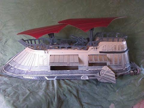 vintage tan  jabbas barge mcrobo creations