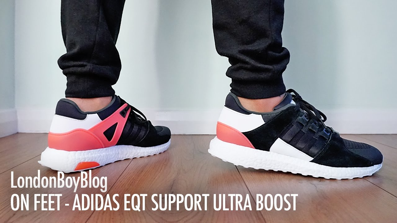 online store f0466 fb8f8 On Feet - Adidas EQT Support Ultra Boost
