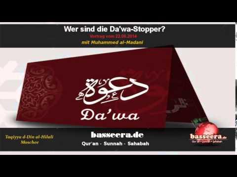 Muhammed al-Madani - Wer sind die Da'wa-Stopper?