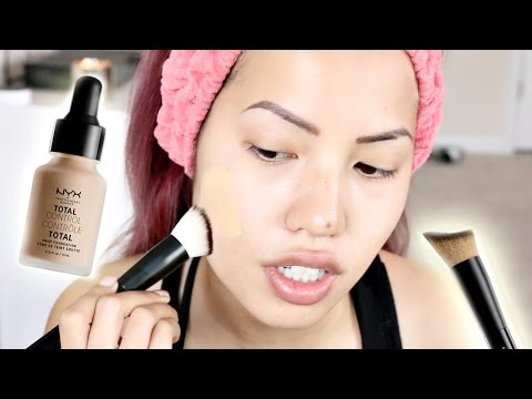 BRAND NEW | NYX TOTAL CONTROL DROP FOUNDATION REVIEW