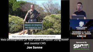 JWC 2016 - Web Development On Your Local Computer Using MAMP and Joomla! CMS - Joe Sonne thumbnail