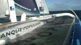 Jour 17 - Dans les mers du sud - Maxi Banque Populaire V