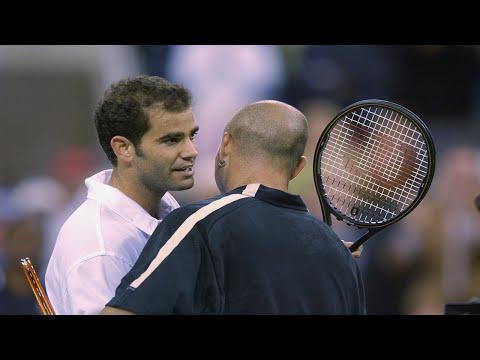 US Open Tennis Classics: Pete Sampras Vs Andre Agassi (2001 QF)