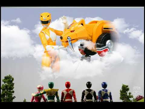 POWER RANGERS YELLOW RANGER TRINI THUY TRANG TRIBUTE STOP MOTION ANIMATION