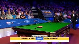 Ronnie o'sullivan Vs Stephen Maguire F17 •R1• |World Championship 2018|
