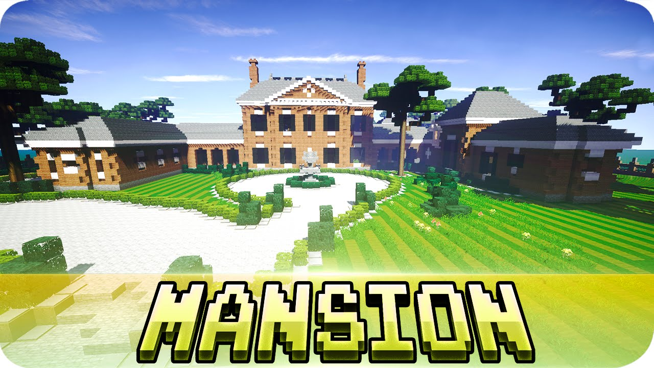 Minecraft Georgian Brick Mansion House W Download