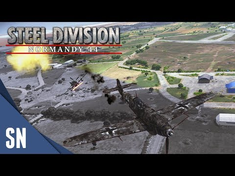 UK & US Armored! - Steel Division: Normandy 44 Gameplay #33