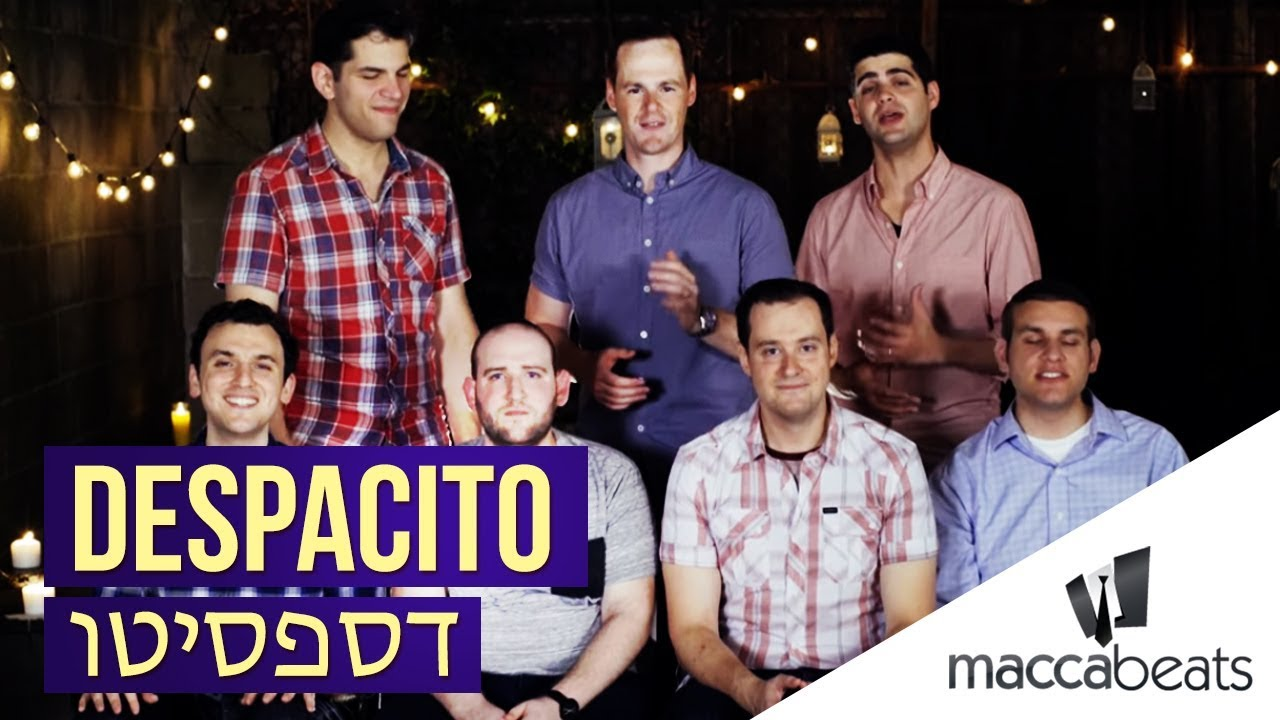 The Maccabeats - Despacito - דספסיטו (Amram Adar ft. Itzik Shamli Cover)