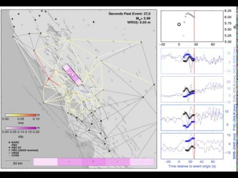 G-larmS earthquake early warning for 2014 M6 Napa earthquake