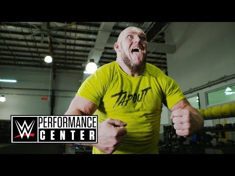 Lars Sullivan's freakish shoulder workout: WWE Performance Center Workouts, March 9, 2018