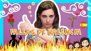 Spanish FALLAS DE VALENCIA Words with Rosa!