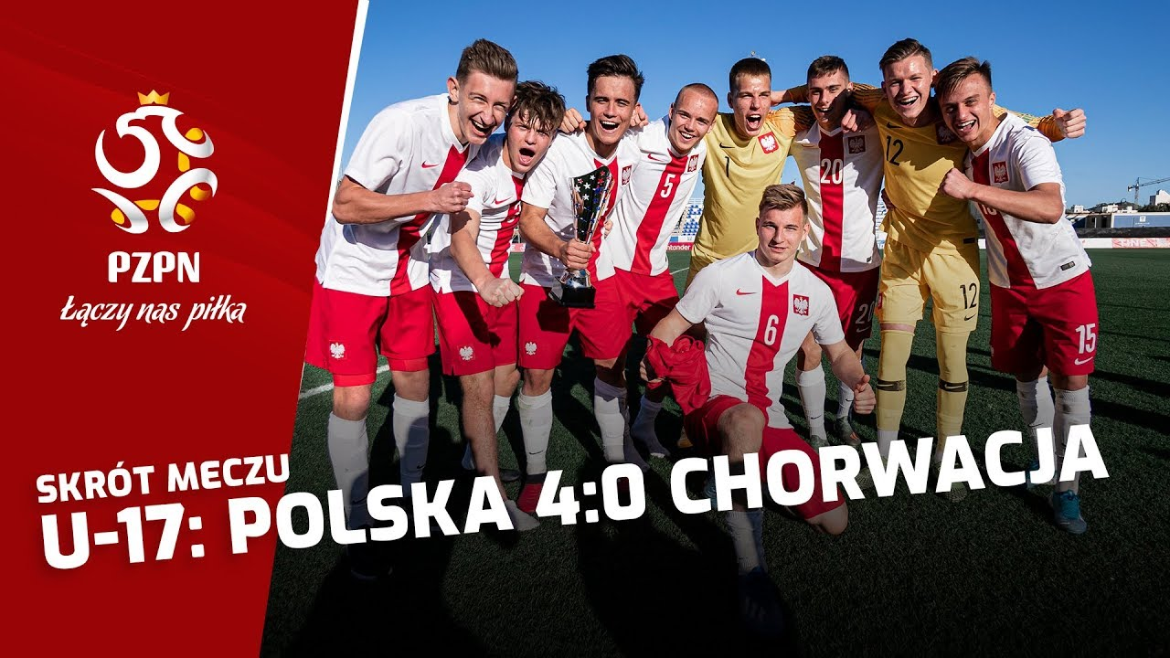 U-17: Skrót meczu POLSKA - CHORWACJA (4:0)