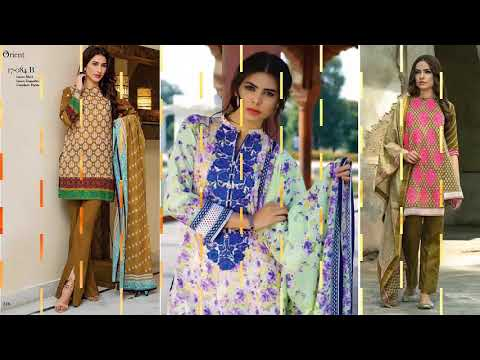 New 2018 Orient  Kurti Collection for Girls @ khalifa Fashion