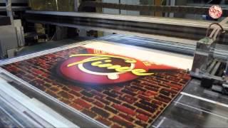 видео Уф печать на ПВХ пластике, фотопечать и прямая печать на пластике
