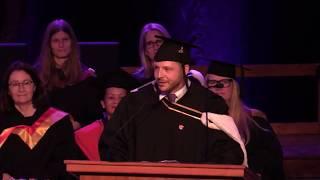 Valedictorian Speech GO WHERE THE FEAR IS