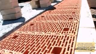 видео Строительство домов из керамических блоков. Дома под ключ.