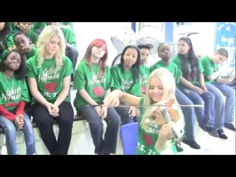 """Green Grow The Rushes"" Celtic Woman & PS22 Chorus"