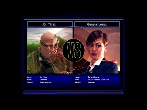 Command & Conquer General Zero Hour Challenge Dr.Thrax VS General Leang Hard Mode #7